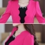 ชุดเดรสกระโปรงบานสีดำ+เสื้อสูท สีชมพูบานเย็น (ขายแยกชิ้น) thumbnail 9