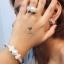 พร้อมส่ง ~ Bracelet+Ring+Earring Setงานเพชร CZ แท้งานเกรดไฮเอนค่ะ เพชร CZ thumbnail 8