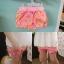 กางเกงขาสั้นเด็กสีชมพูลายดอกไม้ PinkIdeal thumbnail 4