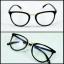กรอบแว่นตา LENMiXX Rera Black thumbnail 1
