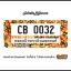 กรอบป้ายทะเบียนรถยนต์ CARBLOX ระหัส CB 0032 ลายวินเทจ VINTAGES. thumbnail 1