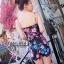 Pre-order จั๊มสูทเสื้อสายเดี่ยว ผ้าโพลีเอสเตอร์พิมพ์ลายดอกไม้ แฟชั่นสไตล์ยุโรป-อเมริกา ปี 2015 thumbnail 7