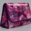 กระเป๋าเครื่องสำอางค์ นารายา ผ้าคอตตอน สีชมพู ลายดอกไม้ มีกระจกในตัว Size L (กระเป๋านารายา กระเป๋าผ้า NaRaYa) thumbnail 1