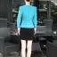 เสื้อสูทผู้หญิง สูทบาง ฝีมือตัดเย็บระดับ High -end นำเข้าจากประเทศเกาหลีแท้ แขนยาว สีส้มโอลด์โรส thumbnail 5