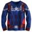 z Captain America Deluxe PJ Pal for Boys thumbnail 3