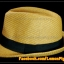 หมวกสาน ทรงไมเคิล สีน้ำตาลอ่อนขอบเรียบ แถบดำ ฮิตๆ !!! thumbnail 1
