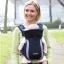 เป้อุ้มเด็ก Tomy Freestyle Premier Carrier สีดำ นำเข้าจาก อังกฤษ improved parent and baby comfort 100% cotton thumbnail 1