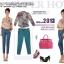 Pre-Order กางเกงทำงานผู้หญิง กางเกงสแล็ค ทรงดินสอ สีฟ้า thumbnail 3