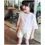 เสื้อเด็กหญิงสีขชมพู ชายลูกไม้ thumbnail 1