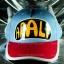 หมวก ARALE อาราเล่ สีฟ้า-ชมพู 2 tone thumbnail 2