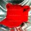 หมวก Bear หูหมี ขนสัตว์นุ่มๆ สีแดง !!! thumbnail 2
