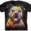 Pre. เสื้อยืดพิมพ์ลาย 3D The Mountain T-shirt : BEWARE OF PIT BULLS T-SHIRT thumbnail 1