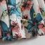 Pre-Order กระโปรงทำงานเรียบหรูสไตล์วินเทจ กระโปรงย้วย ลายดอกไม้ดอกใหญ่ สีชมพู thumbnail 3