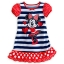 Minnie Mouse Striped Nightshirt for Girls Size3 thumbnail 1