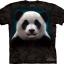 Pre.เสื้อยืดพิมพ์ลาย3D The Mountain T-shirt : Panda Head thumbnail 1