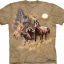 Pre.เสื้อยืดพิมพ์ลาย3D The Mountain T-shirt : Patriot Horse thumbnail 1