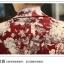 Pre-Order เสื้อสูท สูทลำลอง สูทเบลเซอร์ลำลอง แขนยาว ผ้าฝ้าย พิมพ์ลายดอกไม้สีขาว-น้ำตาล thumbnail 5