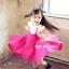 ชุดเดรสเด็กหญิง เดรสกระโปรงสีชมพู New Phelfish thumbnail 2