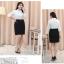 (Pre-order) เสื้อเชิ้ตทำงาน เสื้อเชิ้ตผู้หญิงแขนยาว สีขาว ไซส์ใหญ่ thumbnail 9