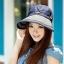 Pre-order หมวกแฟชั่น หมวกแก็ปปีกกว้าง หมวกฤดูร้อน กันแดด กันแสงยูวี สีกาแฟ thumbnail 7