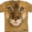 Pre.เสื้อยืดพิมพ์ลาย3D The Mountain T-shirt : Mountain Lion thumbnail 1