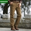 Pre-order กางเกงขายาว กางเกงธุรกิจ แฟชั่นสไตล์อเมริกันคลาสสิก หนุ่มมาดเท่ ขาลุย สีคาเมล NIAN Jeep thumbnail 1