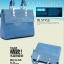 (Pre-order) กระเป๋าหนัง PU กระเป๋าสะพายผู้หญิง กระเป๋า Messenger แบบย้อนยุค สไตล์ยุโรป อเมริกา สีฟ้า thumbnail 2
