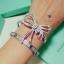 พร้อมส่ง ~ กำไล & ต่างหู & แหวน ดีไซด์โบว์น่ารักมากกก งานเพชร CZ แท้ เอาใจสาวๆ thumbnail 8