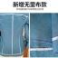 (Pre-order) เสื้อสูทแฟชั่น เสื้อสูทผู้หญิง แขนสามส่วน ผ้าลินินผสม สีฟ้า thumbnail 2