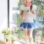 เสื้อเด็กหญิง PinkIdeal เสื้อสีขาว ผูกโบว์ด้านหลัง thumbnail 4