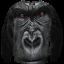 เสื้อยืดพิมพ์ลาย MR.GUGU & Miss GO : Gorilla sweater thumbnail 1