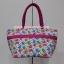 กระเป๋าสะพาย นารายา Size L ผ้าคอตตอน พื้นสีขาว ลายช้าง ผูกโบว์ สายหิ้ว หูเกลียว (กระเป๋านารายา กระเป๋าผ้า NaRaYa กระเป๋าแฟชั่น) thumbnail 5
