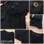 Sevy V-Neck Classy Black Ribbon Waist Dress Type: Dress Fabric: Spandex เนื้อผ้าเกรดดี เนื้อผ้ายืดหยุ่นได้ เนื้อผ้ามีน้ำหนักค่อนข้างมาก Detail : Dress ลุคเรียบหรู คอวี แขนยาว ชายแขนเสื้อผ่าขึ้นเล็กน้อย กระดุมผ่าหน้าใส่ง่าย มาพร้อมเชือกผ้าผูกเอว ใส่ออกมาแล thumbnail 11