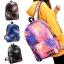 [Preorder] กระเป๋าเป้ลายกาแล็คซี่ มีสีน้ำเงิน/ดำ/น้ำตาล/ชมพู thumbnail 2