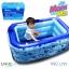 สระว่ายน้ำเด็ก UNME OPENBABY สระเป่าลมขนาด 1. 35 เมตร เหมาะเล่นในบ้านหรือ ใส่ลูกบอลเเทนน้ำ ไม่กินพื้นที่ เป็นพื้นกระโดด thumbnail 1