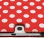 พร้อมส่ง * เคส Tab 3 10.1 ลายจุด หมุ่น360 องศา สีแดงจุดขาว (ส่งฟรี EMS) thumbnail 3