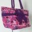 กระเป๋าสะพาย นารายา Size L ผ้าคอตตอน สีชมพู ลายดอกไม้ ผูกโบว์ สายหิ้ว หูเกลียว (กระเป๋านารายา กระเป๋าผ้า NaRaYa กระเป๋าแฟชั่น) thumbnail 1