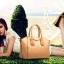 (Pre-order) กระเป๋าหนังแท้ กระเป๋าสะพายผู้หญิง หนังเรียบ แบบคลาสสิค สไตล์ยุโรป อเมริกา สีกากี thumbnail 3