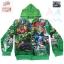 ฮ ( S-M-L-XL ) เสื้อแจ็คเก็ต เสื้อกันหนาว เด็กผู้ชาย เสื้อกันหนาวเด็ก Super Hero The Avengers สีเขียว รูดซิป มีหมวก(ฮู้ด) ใส่คลุมกันหนาว กันแดด สุดเท่ห์ ใส่สบาย ลิขสิทธิ์แท้ (ไซส์ S-M-L-XL ) thumbnail 1