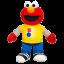 z Sesame Street Rockin' Shape and Colors Elmo Playskool ของแท้ นำเข้าจากอเมริกา thumbnail 2