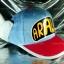 หมวก ARALE อาราเล่ สีฟ้า-ชมพู 2 tone thumbnail 1