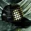หมวกแก๊ป Cap สีดำลายหมากรุกสีทอง thumbnail 2