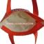กระเป๋าสะพาย นารายา ผ้าคอตตอน ลายปลา สีส้ม ผูกโบว์ (กระเป๋านารายา กระเป๋าผ้า NaRaYa กระเป๋าแฟชั่น) thumbnail 6