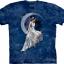 Pre.เสื้อยืดพิมพ์ลาย3D The Mountain T-shirt : Frost Moon thumbnail 1