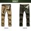 Pre-order กางเกงขายาว กางเกงธุรกิจ แฟชั่นสไตล์อเมริกันคลาสสิก หนุ่มมาดเท่ ขาลุย สีเขียว NIAN Jeep thumbnail 2
