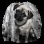 เสื้อยืดพิมพ์ลาย MR.GUGU & Miss GO : Pug sweater thumbnail 1