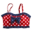 Minnie Mouse Red Swimsuit for Girls - 2-Piece (Size5-6) thumbnail 4