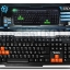G-TECH USB Multi Keyboard GTX-8 (Orange/Black) thumbnail 1