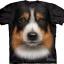 Pre.เสื้อยืด 3D ลายรูปหน้าสัตว์ The Mountain T-shirt : Alaskan Malamute Face thumbnail 1