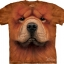 Pre.เสื้อยืดพิมพ์ลาย3D The Mountain T-shirt : Chow Chow Face thumbnail 1
